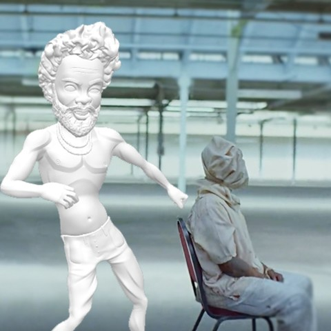 Download 3D model Childish Gambino - This is America Edition, ScanTheWall