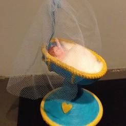 Download STL file Subject Cradle of Baptism • 3D printer object, voisinpatrick