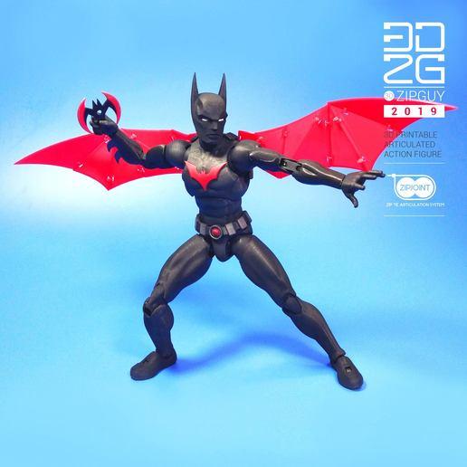 Download free 3D printing files BATMAN BEYOND BATARANG, 3dzipguy