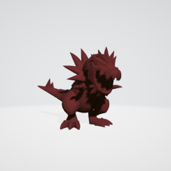 Download STL tyrantrum pokemon, guillera