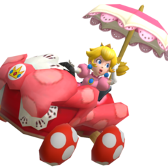 38370.png Download free STL file Princess Peach Mario Kart • 3D printing model, guillera