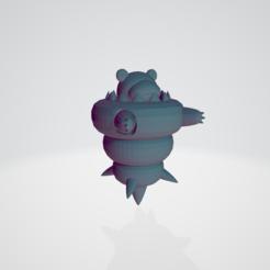 Download 3D printing templates Mega slowbro, guillera