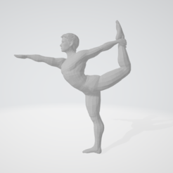Download 3D printer model wii fit trainer male smash bros yoga teacher master, guillera