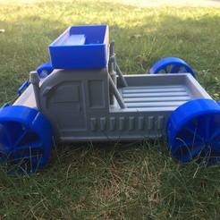Download free 3D printing models Children's truck, Vins263D