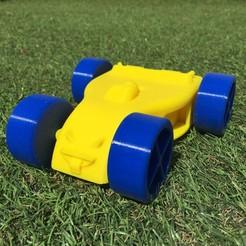 Download free 3D printer designs Children's car., Vins263D