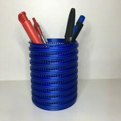 IMG_6933.JPG Télécharger fichier STL gratuit Pot à crayon 2 • Design pour impression 3D, Vins263D