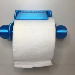 1.JPG Télécharger fichier STL gratuit Dérouleur papier toilette • Plan pour imprimante 3D, Vins263D