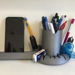 Descargar diseños 3D gratis Portabolígrafos de escritorio, Vins263D