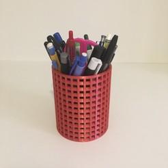 IMG_6100.JPG Télécharger fichier STL gratuit Pot à crayon • Modèle imprimable en 3D, Vins263D