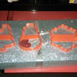 IMG_20191129_013350.jpg Télécharger fichier STL Emporte-pièces pour biscuits de Noël • Design pour impression 3D, rodgarheliz