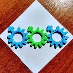 Download free STL rosary beads mini - Denarius to pray, el_tio_3D