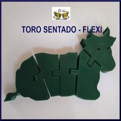 Descargar archivo 3D Flexi Bull - Nativity Collection - Toro sentado, el_tio_3D