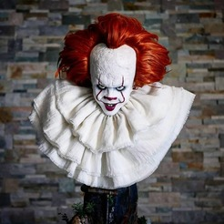 Download free 3D printing models Pennywise Bust, Klaussphoenix