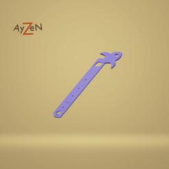 Marque Page fusée 1.png Download free STL file Rocket bookmark / Rocket bookmark • 3D print object, Ayzen