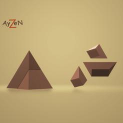 Sans titre3.png Download free STL file Puzzle / KHÉOPS The Pyramid • 3D printer model, Ayzen