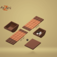 Download free STL file Rock Me Archimedes (Marbles Game) / Rock Me Archimedes (Marbles Game), Ayzen