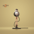 FaceThingiverse1.png Download free STL file Desk lamp • Design to 3D print, Ayzen