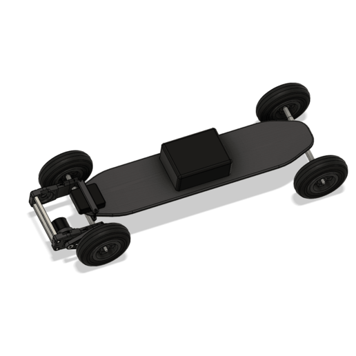 Mountainboard v18.png Download free OBJ file Electric Mountainboard Motor and Vesc Mount • 3D printing model, BasementCreations