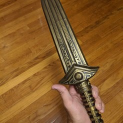 Descargar modelo 3D Daga inspirada en el universo Elder Scroll, dustinmbryant