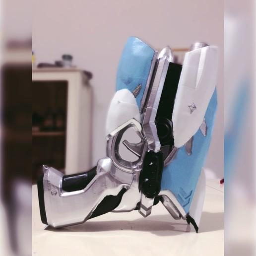 Download 3D printer designs D.va Cruiser Skin Light Gun (Cosplay), IiN