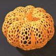 Download 3D printer designs Pumpkin halloween, zalesov