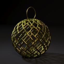 30000.jpg Download STL file Christmas ball • 3D print design, zalesov