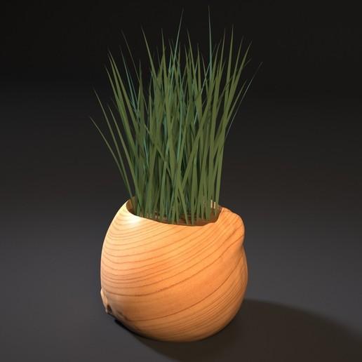 Download 3D printer model  bow planter, zalesov