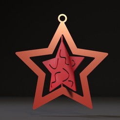 Download 3D printer files Christmas toy star, zalesov