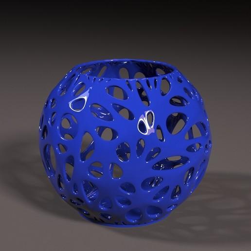 1.jpg Télécharger fichier STL gratuit Beau décor de vase • Plan pour imprimante 3D, zalesov