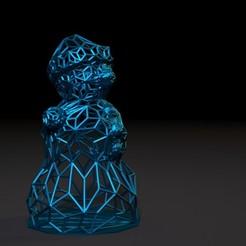 30002.jpg Download STL file Snowman 2 • 3D printer model, zalesov