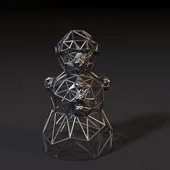 20001.jpg Download STL file Snowman • Object to 3D print, zalesov