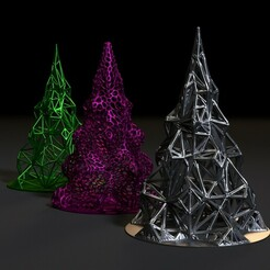 00002.jpg Download STL file Christmas tree decoration • 3D printing model, zalesov