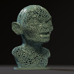 Download 3D printing files Golum, zalesov