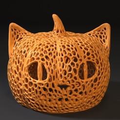 Télécharger fichier STL cheshire halloween voronoi • Design imprimable en 3D, zalesov