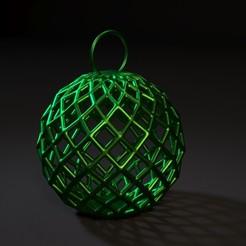 20000.jpg Download STL file Christmas ball • 3D print design, zalesov