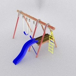 3D print model Children's game, Elskyfu