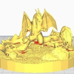 Sin título.jpg Download free STL file Terrarium charizard • Object to 3D print, TerraKevin