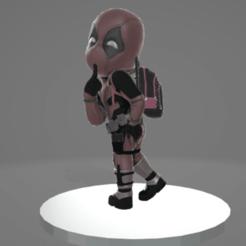 1.png Download free OBJ file Deadpool • 3D printable design, TerraKevin