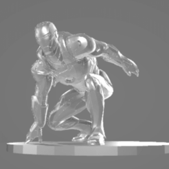 iron man obj.png Download free OBJ file Iron Man • Model to 3D print, TerraKevin
