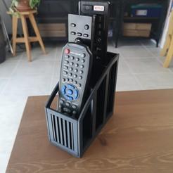 Descargar Modelos 3D para imprimir gratis Soporte para el control remoto, CyrilMartineau
