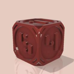 dé25SW.png Télécharger fichier STL Dé, Dice • Modèle pour imprimante 3D, CyrilMartineau
