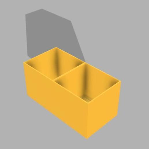 Télécharger objet 3D gratuit Casier boite 1x2 , CyrilMartineau