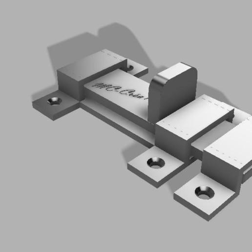 Descargar archivo 3D gratis cierre deslizante - cornamusa, CyrilMartineau