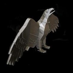 Imprimir en 3D gratis Águila baja poliéster, Salomea