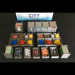 Download STL files City Tycoon organizers, Salomea