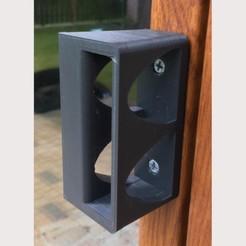 BDH_JKa1.jpg Télécharger fichier STL gratuit Poignée de porte de balcon • Plan pour imprimante 3D, Salomea