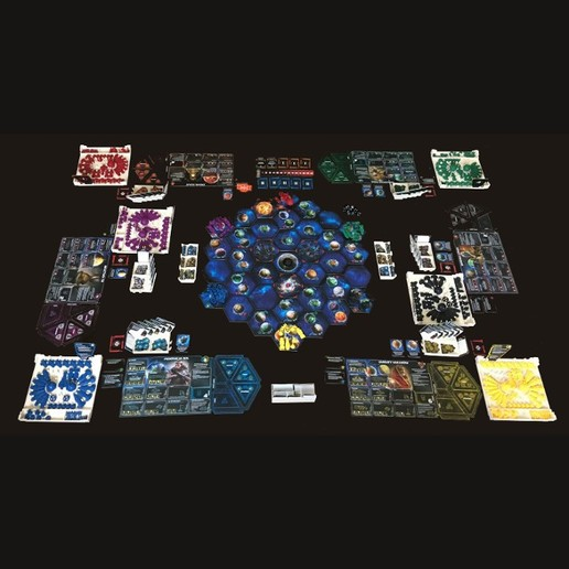 Twilight Imperium Organizers for cards in sleeves