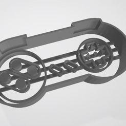 Captura.JPG Télécharger fichier STL Joystick nintendo emporte-pièce à découper les biscuits • Objet à imprimer en 3D, pablonicolasm