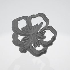Captura.JPG Télécharger fichier STL Coupe-biscuits aux fleurs • Objet imprimable en 3D, pablonicolasm