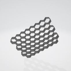 asda.JPG Download STL file Honeycomb cookie cutter • 3D printable template, pablonicolasm